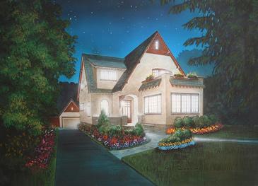 Night House Rendering