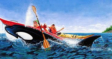 Illustration Canoe