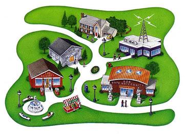 EZStreet Illustration