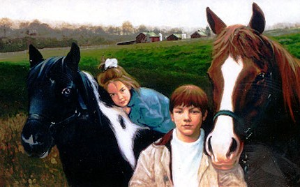 Kids and Horses Portrait