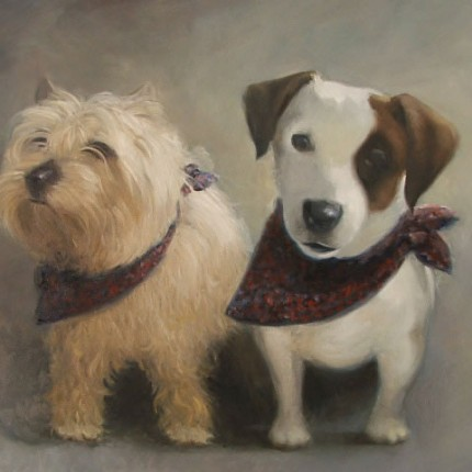 Small Dogs Portrait