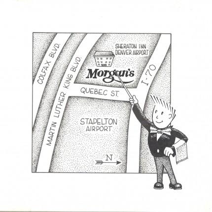 Cartoon Morgan's Map