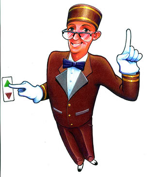 Cartoon Bellhop