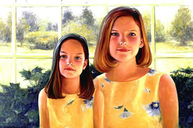 Two Girls Portrait