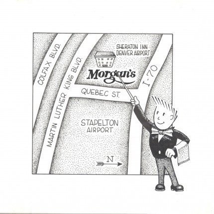 Cartoon Morgan's Map